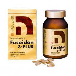 Viên uống hỗ trợ điều trị ung thư Fucoidan 3-Plus NatureMedic 160 viên