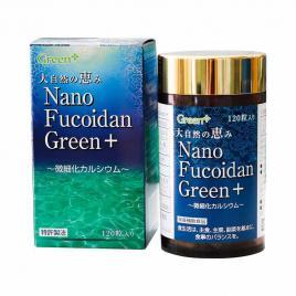 Viên uống hỗ trợ điều trị ung thư Nano Fucoidan Green+ 120 viên