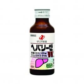 Nước uống giải độc gan Zeria Hepalyse W Nhật Bản 100ml