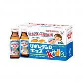 Nước uống bổ sung Vitamin và Canxi Taisho Lipovitan D Kids (Hộp 10 chai x 50ml)