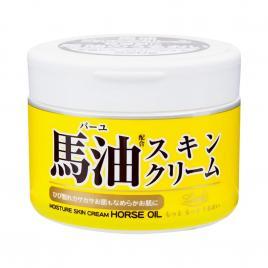 Kem dưỡng ẩm trắng da Cosmetex Roland Loshi Moist Aid Horse Fat Skin Cream 220g