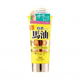 Kem dưỡng da tay Cosmetex Roland Loshi Moist Aid Horse Fat&Q10 Rich Hand Cream 80g