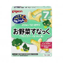 Bánh ăn dặm vị bông cải xanh Pigeon (Cho trẻ từ 7 tháng)