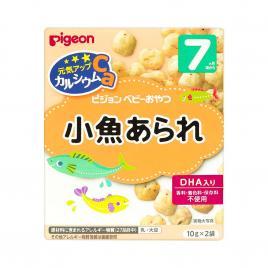 Bánh ăn dặm vị cá cơm bổ sung canxi Pigeon (Cho trẻ từ 7 tháng)