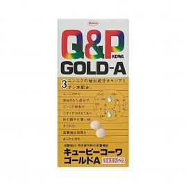 Viên uống bổ mắt Kowa Q&P Gold A 180 viên