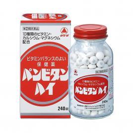 Viên uống bổ sung Vitamin, Canxi và Magie Takeda Panbitan 240 viên