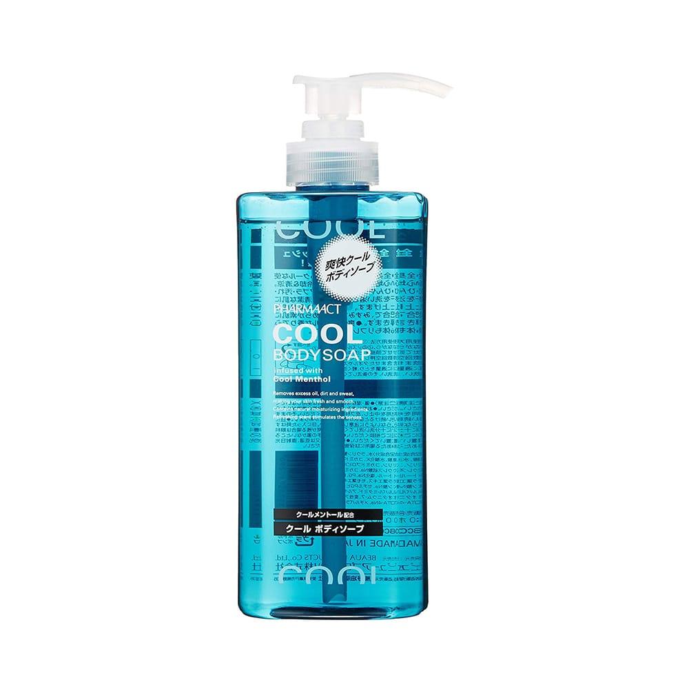 Sữa tắm cho nam Pharmaact Cool Body Soap 600ml (Hương bạc hà)