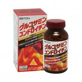 Viên uống bổ xương khớp Glucosamine Chondroitin Itoh 360 viên