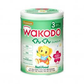 Sữa Wakodo Gungun số 3 Nhật Bản 830g (Cho bé từ 3 tuổi trở lên)