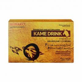 Nước uống tăng lực rùa vàng Mirako Kame Drink (Hộp 10 chai x 50ml)