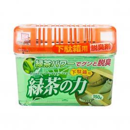 Khử mùi tủ giày hương trà xanh Nhật Bản 150g