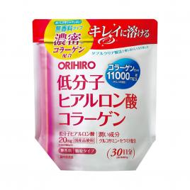 Bột Collagen Hyaluronic Acid Orihiro 11.000mg 180g