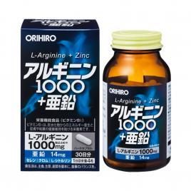 Viên uống hỗ trợ bổ gan, thận cho nam giới Orihiro 120 viên