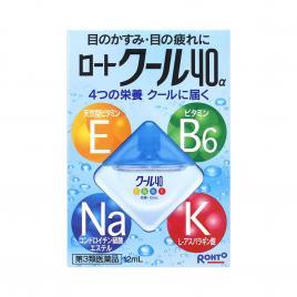 Nước nhỏ mắt Rohto Vitamin RotoCool 40 α Nhật Bản 12ml