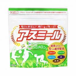 Sữa tăng chiều cao cho trẻ Asumiru Ichiban Boshi 180g (Vị dưa vàng)