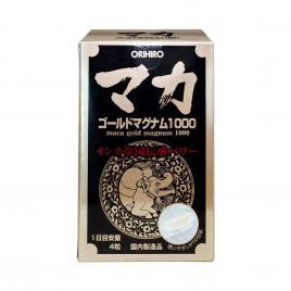 Viên uống hỗ trợ tăng cường sinh lý nam nữ Orihiro Maca Gold Magnum 1000 Orihiro 90 viên