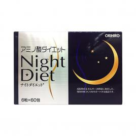 Viên uống giảm cân Orihiro Night Diet (Hộp 60 gói x 6 viên)