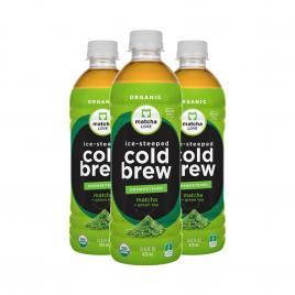Combo 3 chai trà xanh vị chanh ít đường Itoen Organic 470ml
