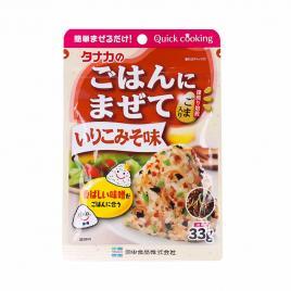 Gia vị rắc cơm vị Miso Tanaka Quick Cooking 33g