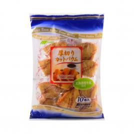 Bánh cuộn cắt lát Marukin Baumkuchen 10 gói (Vị cà phê)