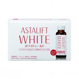 Nước uống làm sáng da Astalift White Drink Whiteshield (Hộp 10 chai x 50ml)
