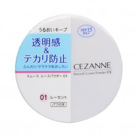 Phấn phủ siêu mịn Cezanne Smooth Loose Powder EX 6g