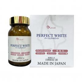 Viên uống trắng da, chống lão hóa Kawaii Perfect White 60 viên
