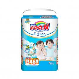 Bỉm - Tã quần Goo.N Premium size L 46 miếng (Cho bé 9-14kg)