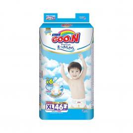 Bỉm - Tã dán Goo.N Premium size XL 46 miếng (Cho bé 12-20kg)