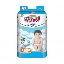 Bỉm - Tã dán Goo.N Premium size L 50 miếng (Cho bé 9-14kg)
