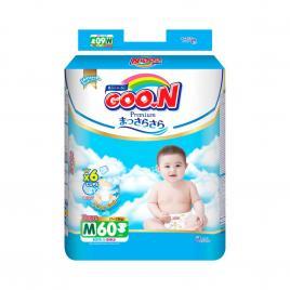 Bỉm - Tã dán Goo.N Premium size M 60 miếng (Cho bé 7-12kg)