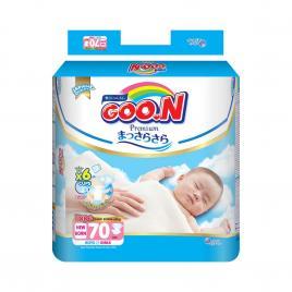 Bỉm - Tã dán Goo.N Premium New Born NB70 70 miếng (Cho bé dưới 5kg)