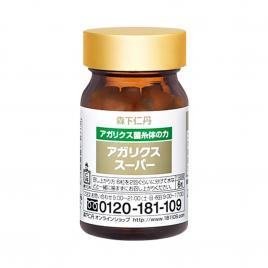 Viên uống 4 loại nấm Morishita Jintan Nittan Agaricus Super 180 viên