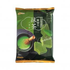 Bánh cuộn cắt lát vị trà xanh Marukin Baumkuchen 8 cái