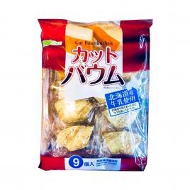 Bánh cuộn cắt lát vị vanilla Marukin Baumkuchen 9 gói