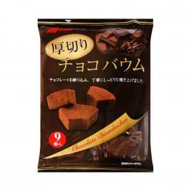 Bánh cuộn cắt lát vị chocolate Marukin Baumkuchen 225g