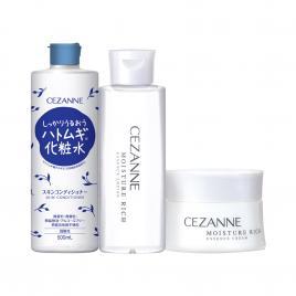 Bộ 3 sản phẩm dưỡng ẩm cho da Cezanne