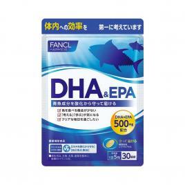 Viên uống dầu cá bổ sung DHA & EPA Fancl 150 viên