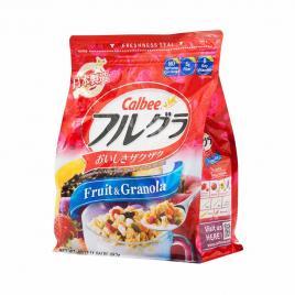 Ngũ cốc trái cây Calbee Nhật Bản 482g (Date T7.21)