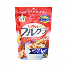Ngũ cốc trái cây Calbee Nhật Bản 180g