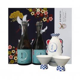 Hộp quà tết rượu Sake Tamanohikari Junmai Ginjo Shuraku 300ml