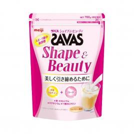 Bột uống bổ sung Protein Meiji Savas Shape & Beauty 700g