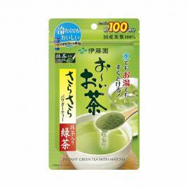 Bột trà xanh nguyên chất Itoen Oi Ocha Sarasara Matcha 80g