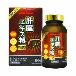 Viên uống hỗ trợ giải độc gan Nichiei Bussan Liver Extract Sperm EX 330 viên