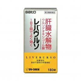 Viên uống bổ Gan Sato Liverurso - 180 viên