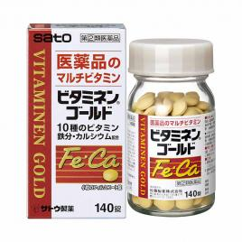 Viên uống bổ sung Vitamin Sato Fe Ca 140 viên