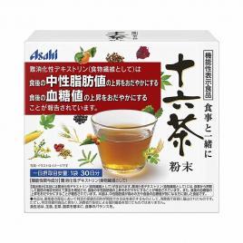 Trà túi lọc hỗ trợ thải độc, giảm cân Asahi Juroku 30 túi