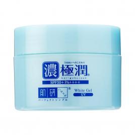 Kem dưỡng ẩm chống nắng Rohto Hada Labo Koi-Gokujyun UV White Gel SPF50+ PA++++ 90g