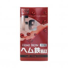 Viên uống bổ sung Sắt Ribeto Shouji Heme Iron 30 viên