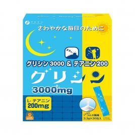 Bột bổ sung Glycine & Theanine Fine Japan 30 gói